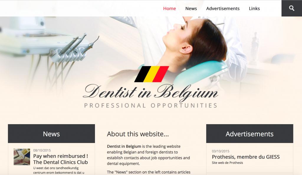 Dentist in Belgium
