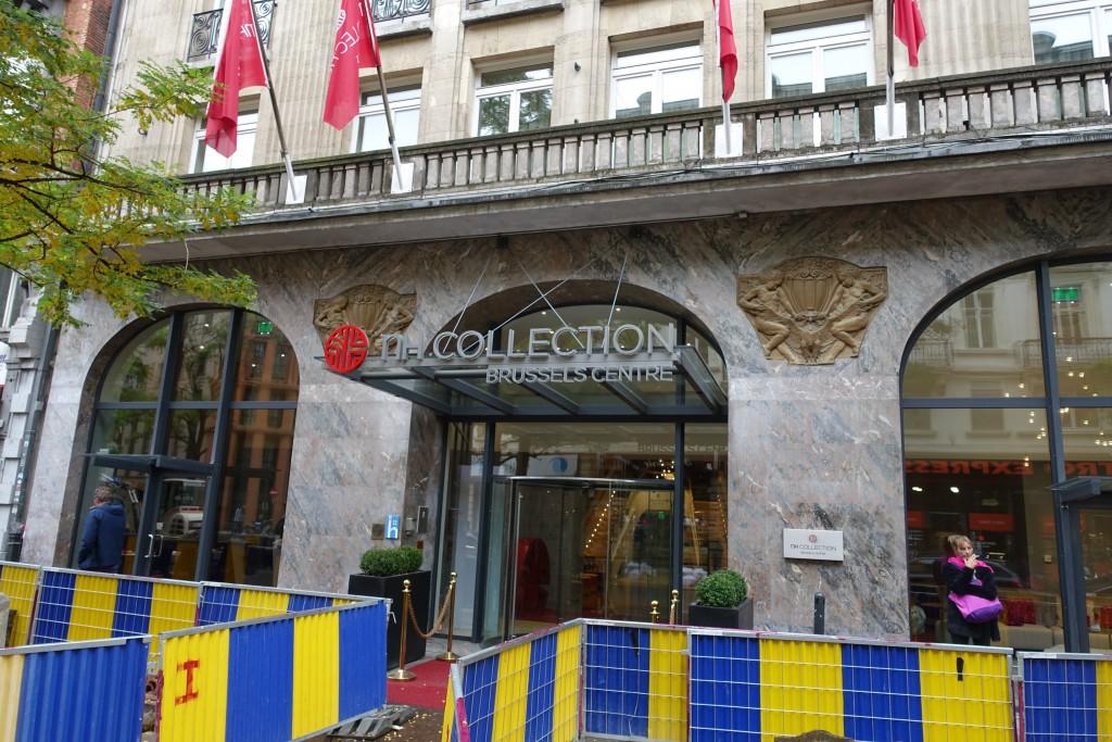 Yvan Mayeur attribuait la déconfiture de l'hôtel Métropole à l'ouverture de ce quatre étoiles, le NH Collection...