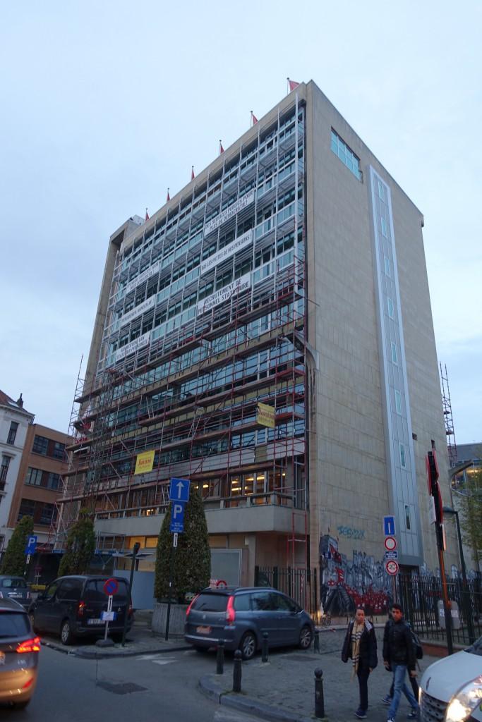 L'affreux building de la CGSP-ACOD
