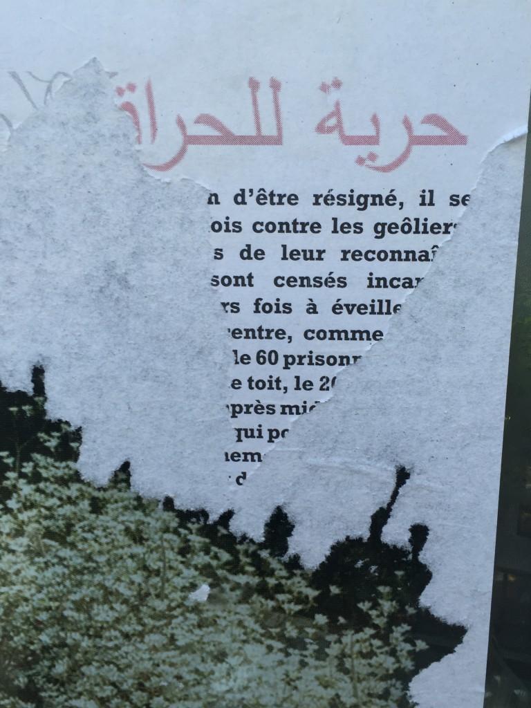 Que cachent ces inscriptions en arabe ?