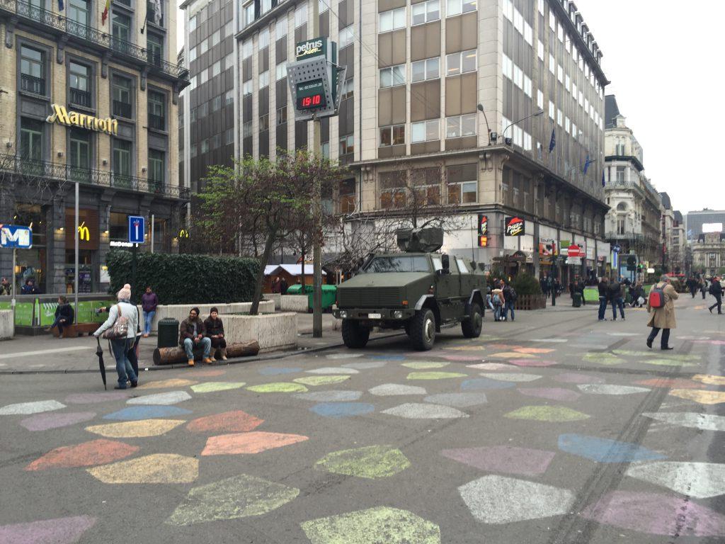 Le centre-ville de Bruxelles : vide, laid et surtout très dangereux !