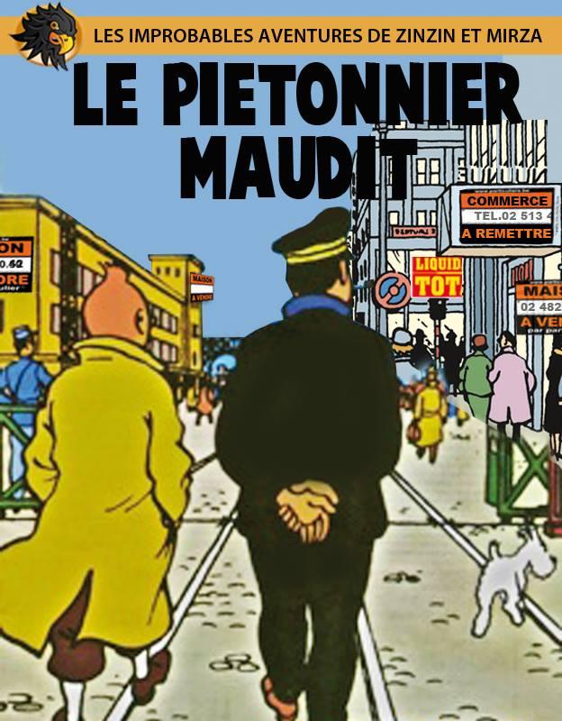 Voici comment Hergé voit Bruxelles en 2020 : une friche économique et commerciale