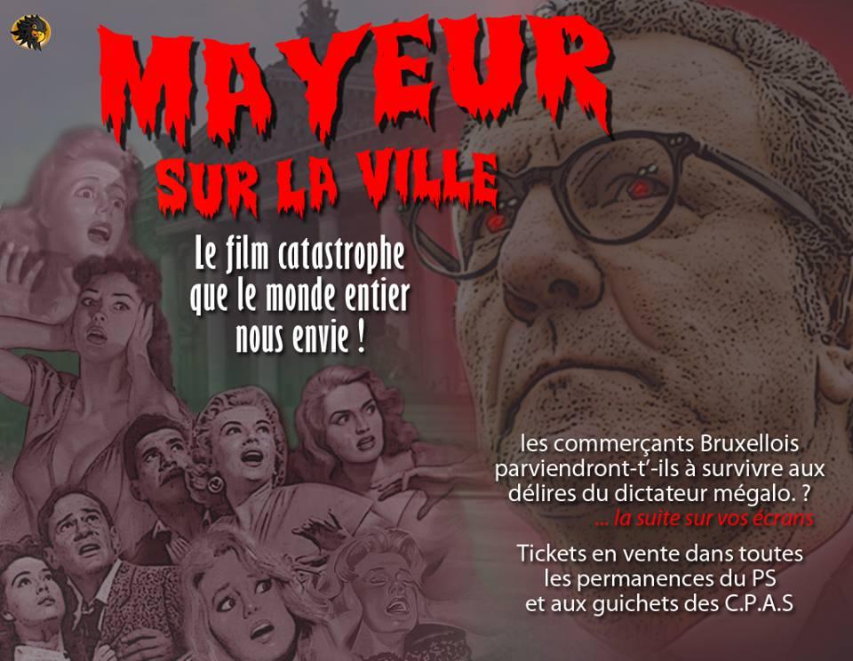 Dans l'imaginaire populaire, Yvan Mayeur est une sorte de monstre qui terrorise la population et fait fuir habitants, commerces et entreprises...