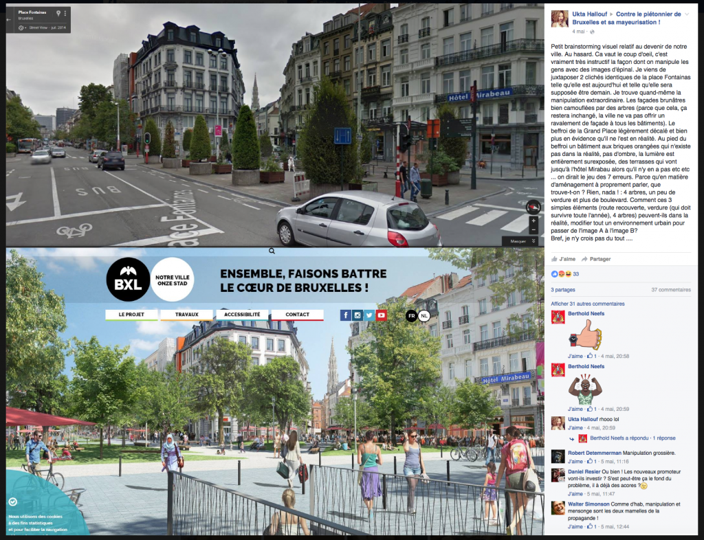 Mais Ukta connait très bien Bruxelles