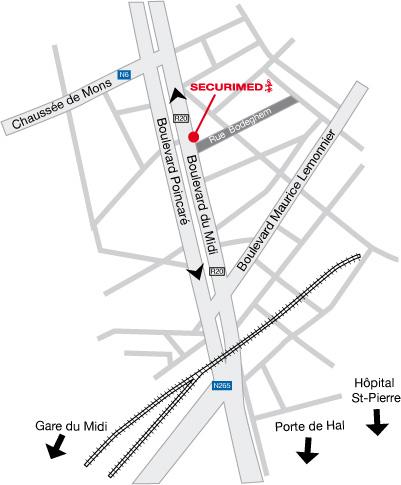 Bvd du Midi, 25 — 1000 Bruxelles