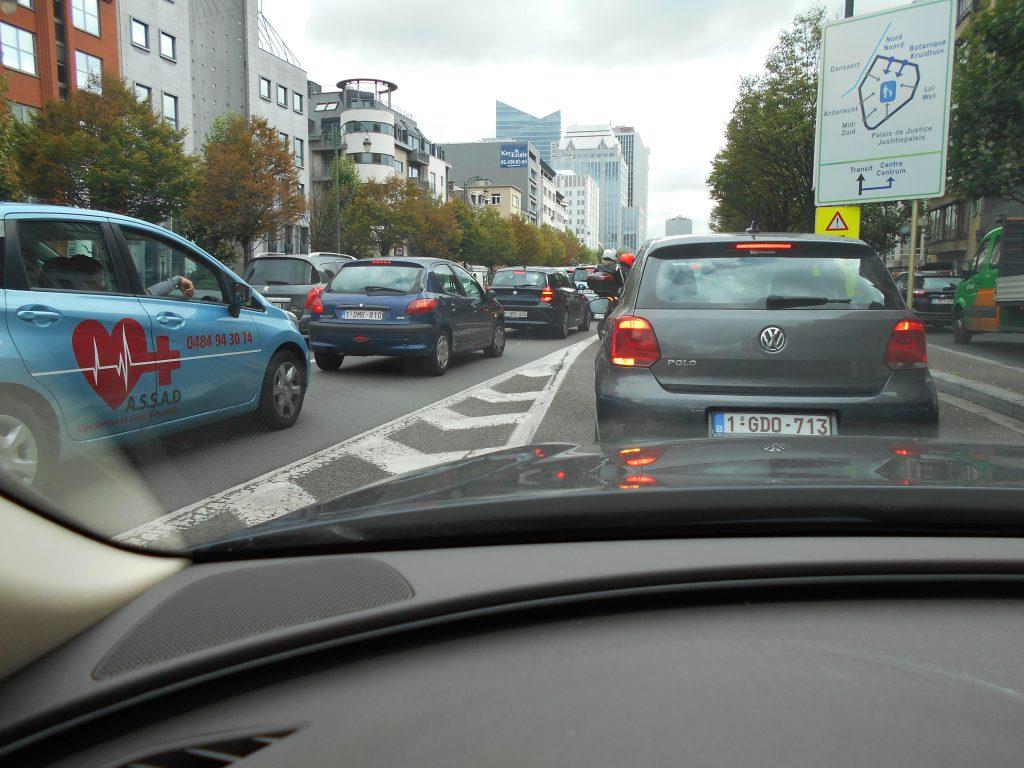 Sur la petite ceinture de Bruxelles