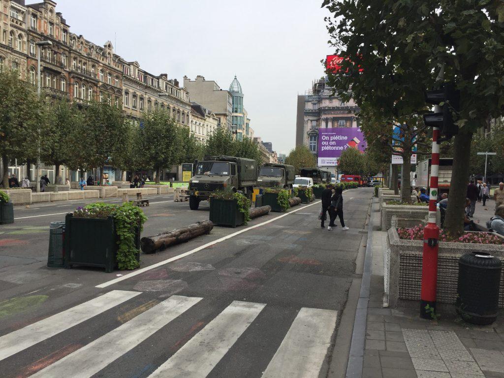 ... mais ce n'est guère étonnant au vu de ce que l'Armée belge a disposé juste devant...