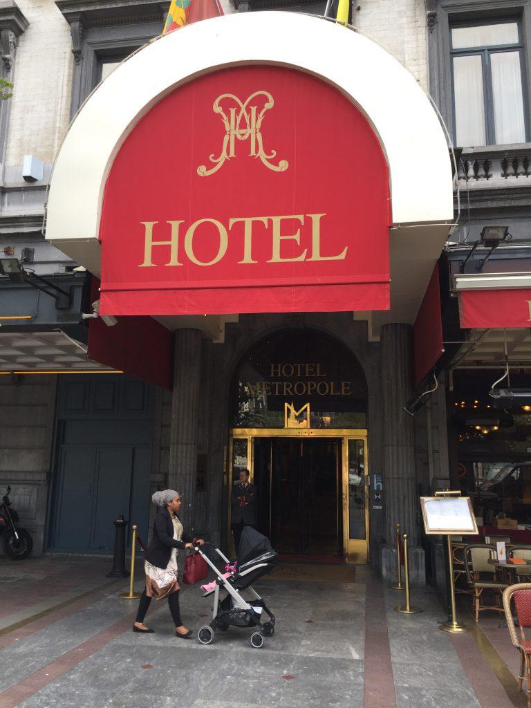 L'hôtel Métropole en septembre 2016