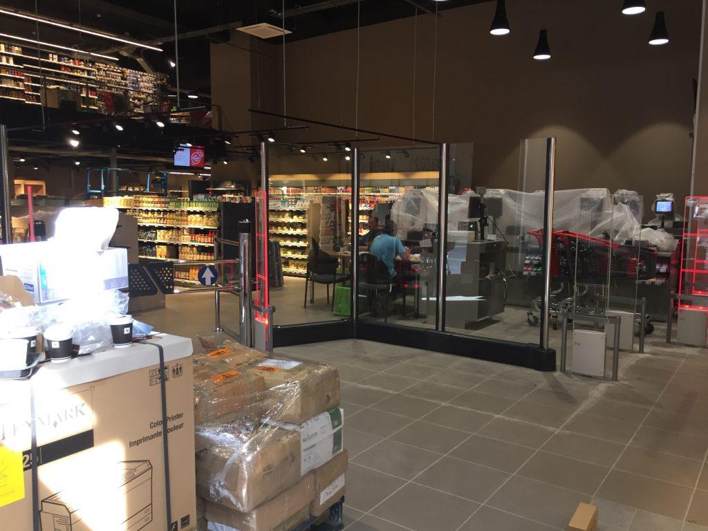 Le Carrefour Saint-Honoré ne nous a pas semblé