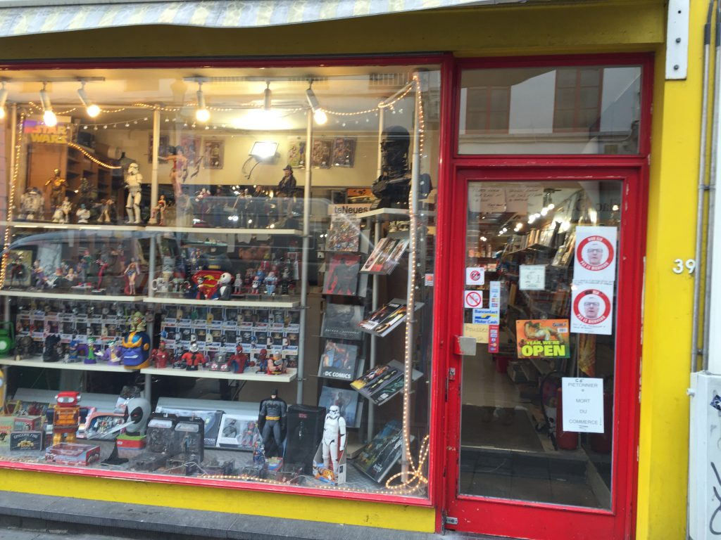 """Utopia rue du Midi, le magasin de Hassan, ne correspond sans doute pas à la """"vision"""" de Yvan Mayeur"""