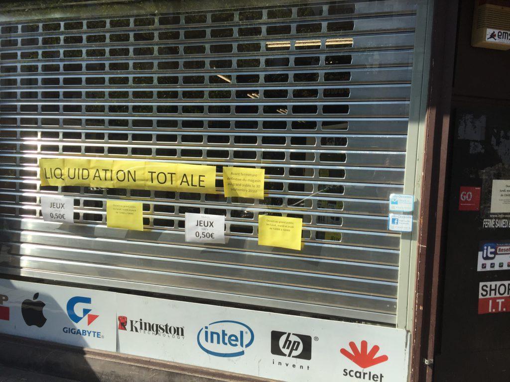 """Liquidation totale"" proclame"