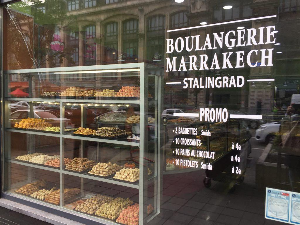La boulangerie Marrakech-Stalingrad est située en réalité sur le Boulevard Lemonnier