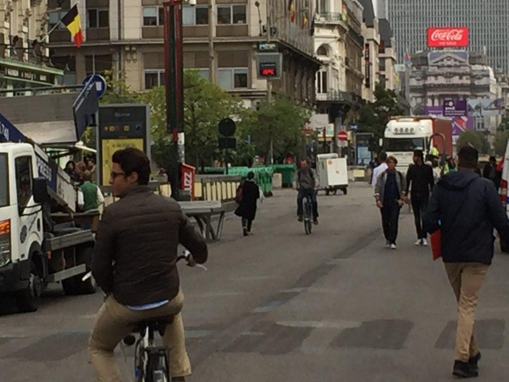 Qu'on ne vienne pas nous dire que la Ville de Bruxelles a une stratégie pour relancer le commerce au centre