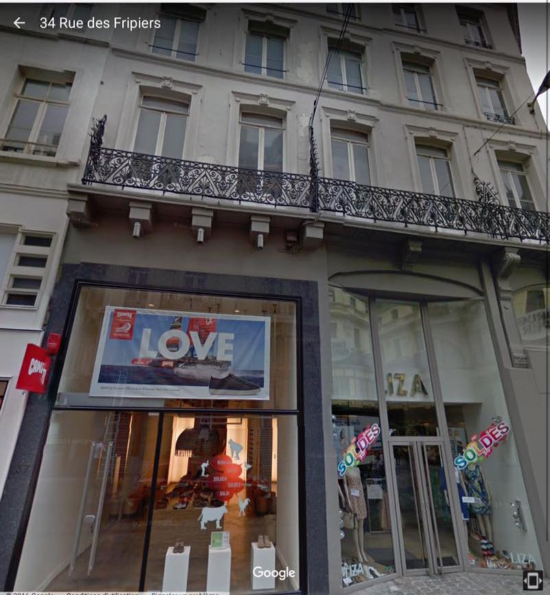 34 rue des Fripiers, en plein centre-ville