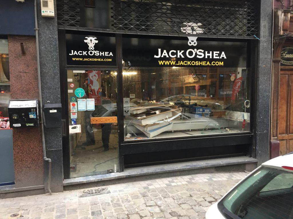La boucherie jack O'Shea n'a toujours pas trouvé de repreneur...